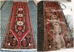 Persian Rug Cleaning - Before and After